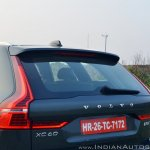Volvo XC60 test drive review tail