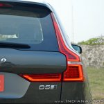 Volvo XC60 test drive review taillights