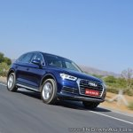 2018 Audi Q5 test drive review front action