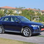 2018 Audi Q5 test drive review front three quarters