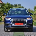 2018 Audi Q5 test drive review front view