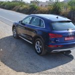 2018 Audi Q5 test drive review rear angle
