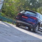 2018 Audi Q5 test drive review rear three quarters low