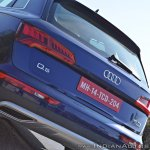 2018 Audi Q5 test drive review tail