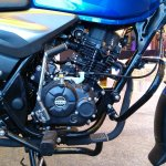 2018 Bajaj Discover 125 launched engine right side