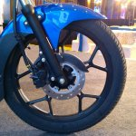 2018 Bajaj Discover 125 launched front wheel