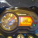 2018 Bajaj Discover 125 launched instrument cluster
