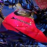 2018 Bajaj Dominar 400 unveiled red fuel tank