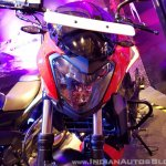 2018 Bajaj Dominar 400 unveiled red headlight