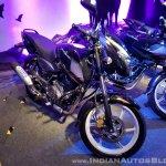 2018 Bajaj Pulsar 150 Black Pack Edition showcased front left quarter