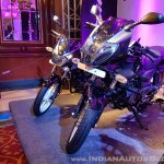 2018 Bajaj Pulsar 220F Black Pack Edition front left quarter