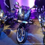 2018 Bajaj Pulsar 220F Black Pack Edition showcased front