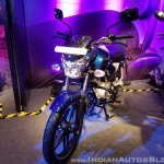 2018 Bajaj V15 unveiled front left quarter