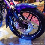 2018 Bajaj V15 unveiled front wheel
