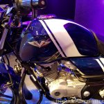 2018 Bajaj V15 unveiled fuel tank