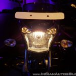 2018 Bajaj V15 unveiled headlight