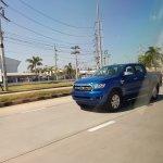 2018 Ford Ranger (facelift) exterior spy shot