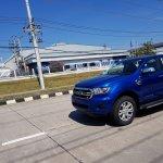 2018 Ford Ranger (facelift) front three quarters spy shot