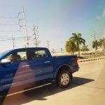 2018 Ford Ranger (facelift) left side spy shot