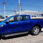 2018 Ford Ranger (facelift) profile spy shot
