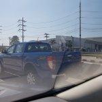 2018 Ford Ranger (facelift) rear three quarters spy shot