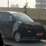 2018 Hyundai Santro (Hyundai AH2) front three quarters spy shot