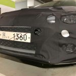 2018 Hyundai i20 (facelift) front fascia spy shot South Korea