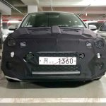 2018 Hyundai i20 (facelift) front spy shot South Korea