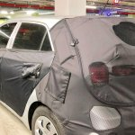 2018 Hyundai i20 (facelift) rear three quarters left side spy shot