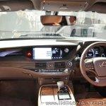 2018 Lexus LS500h dashboard