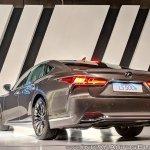 2018 Lexus LS500h rear angle