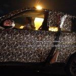 2018 Mahindra XUV500 (facelift) left side spy shot