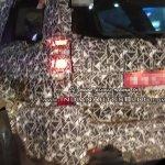 2018 Mahindra XUV500 (facelift) spy photo