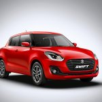 2018 Maruti Swift front three quarters