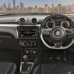 2018 Maruti Swift interior dashboard