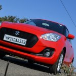 2018 Maruti Swift test drive review front low