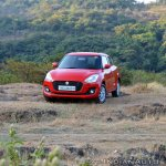 2018 Maruti Swift test drive review front