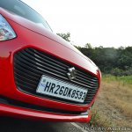 2018 Maruti Swift test drive review grille