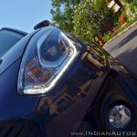 2018 Maruti Swift test drive review headlamps top end variant