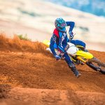 2018 Suzuki RM-Z450 press action front