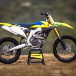2018 Suzuki RM-Z450 press right side
