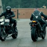 2018 Triumph Speed Triple RS teased front and rear