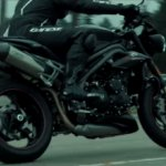 2018 Triumph Speed Triple RS teased right side