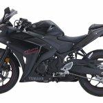 2018 Yamaha YZF-R25 Black press left side