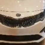 2019 Kia Optima (2018 Kia K5) facelift front fascia spy shot
