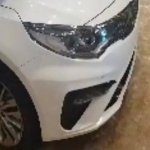 2019 Kia Optima (2018 Kia K5) headlamp spy shot