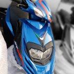 Aprilia SR 125 Blue spied by IAB Reader