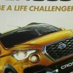 Datsun Cross brochure leaked image