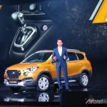 Datsun Cross live images side angle