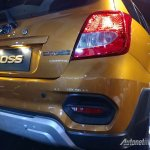 Datsun Cross live images tail lights